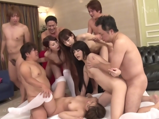 asian big ass group sex