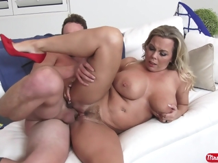 big ass big tits blonde